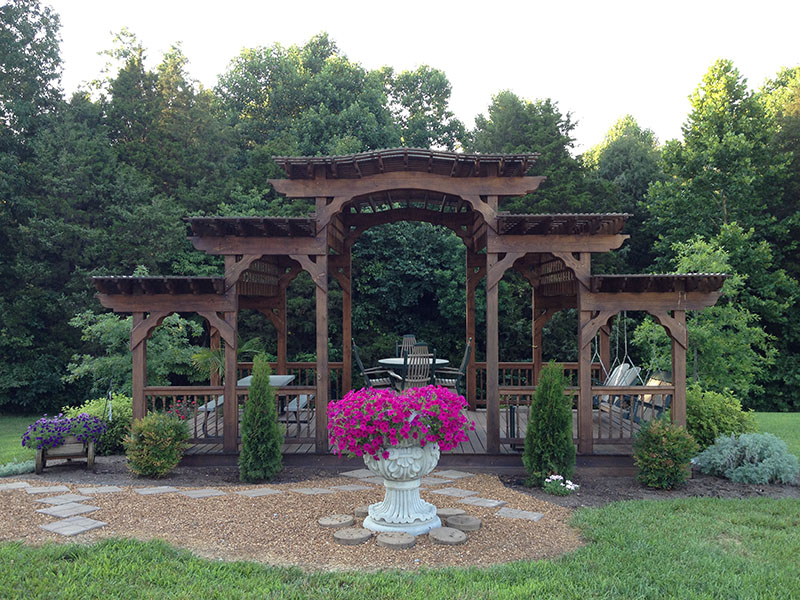 Analyzing The History Of The Amish Pergola