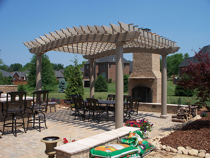 Pergolas for your pool, patio or back yard