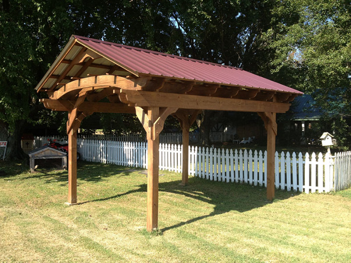 pavilion pergola tennessee pergolas playsets storage sheds by countryside woodcraft. Black Bedroom Furniture Sets. Home Design Ideas