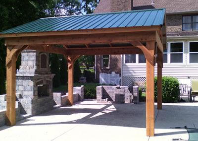 Cedar standard Pavilion cedartone stain