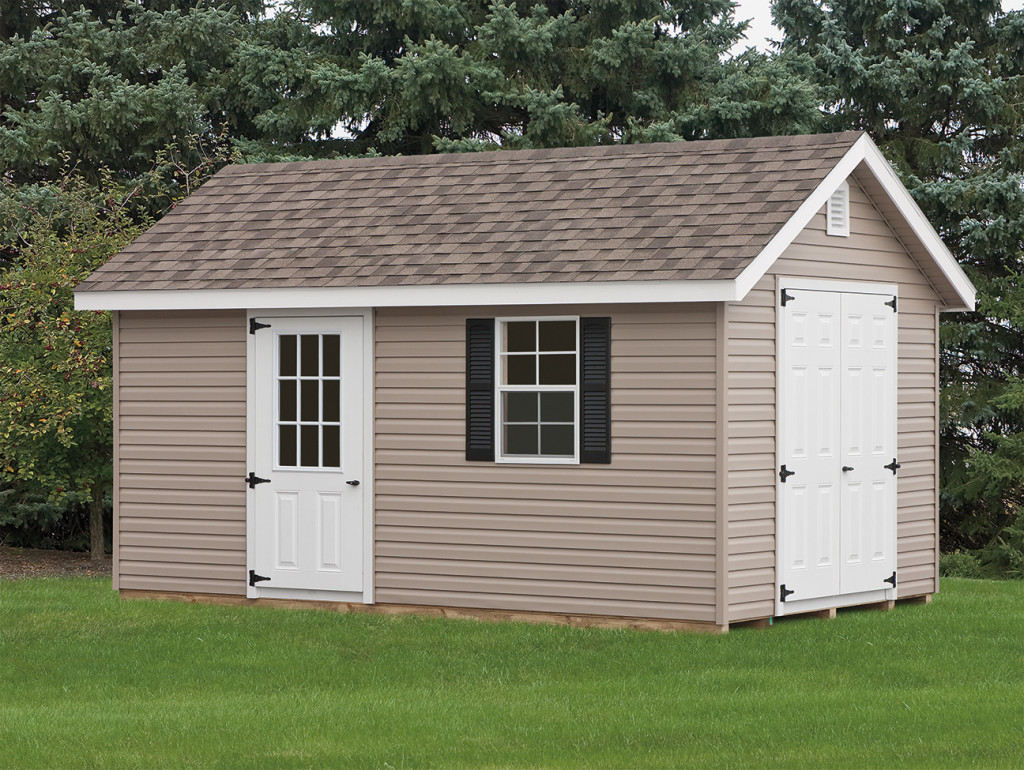 description our vinyl storage sheds