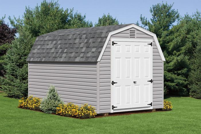 Mini Barn styled storage shed