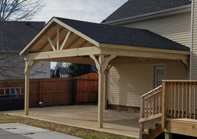 PT standard Pavilion shingles no stain