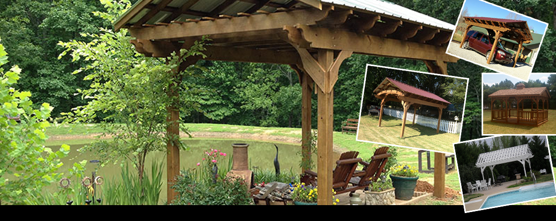 Dickson, Nashville Tennessee Patio Pavilions by Countryside Woodcraft