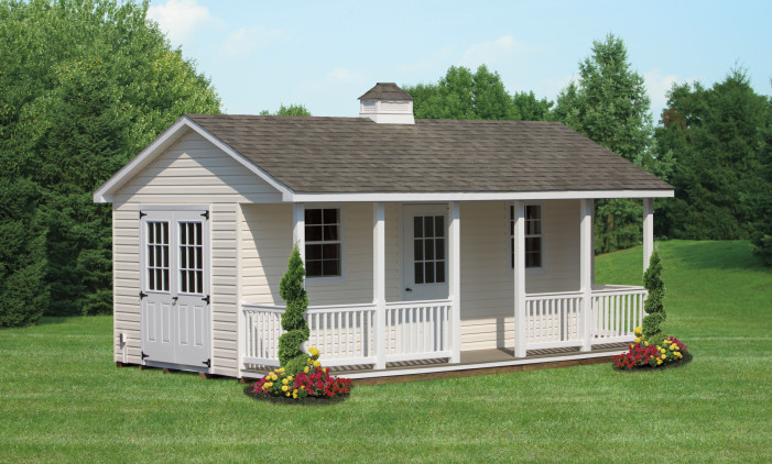 Cottage Style Ranch with Vinyl Siding